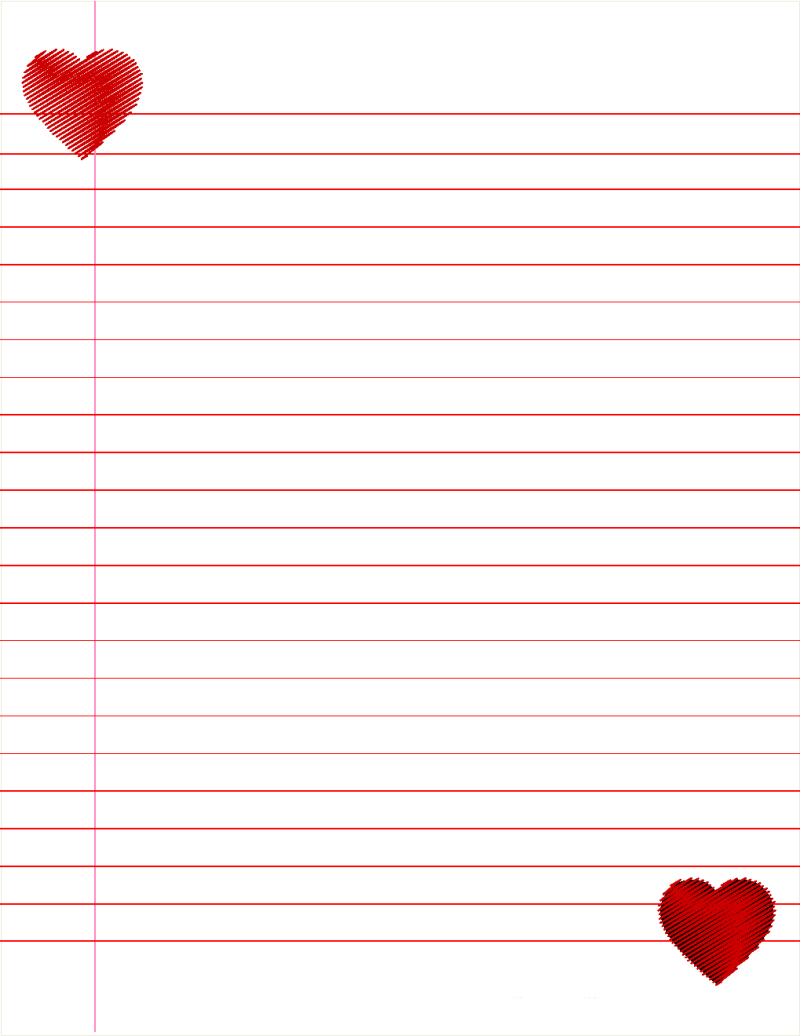 Lined Paper For Kids Cute   Paper   Lined Paper For Kids, Lined - Free Printable Binder Paper