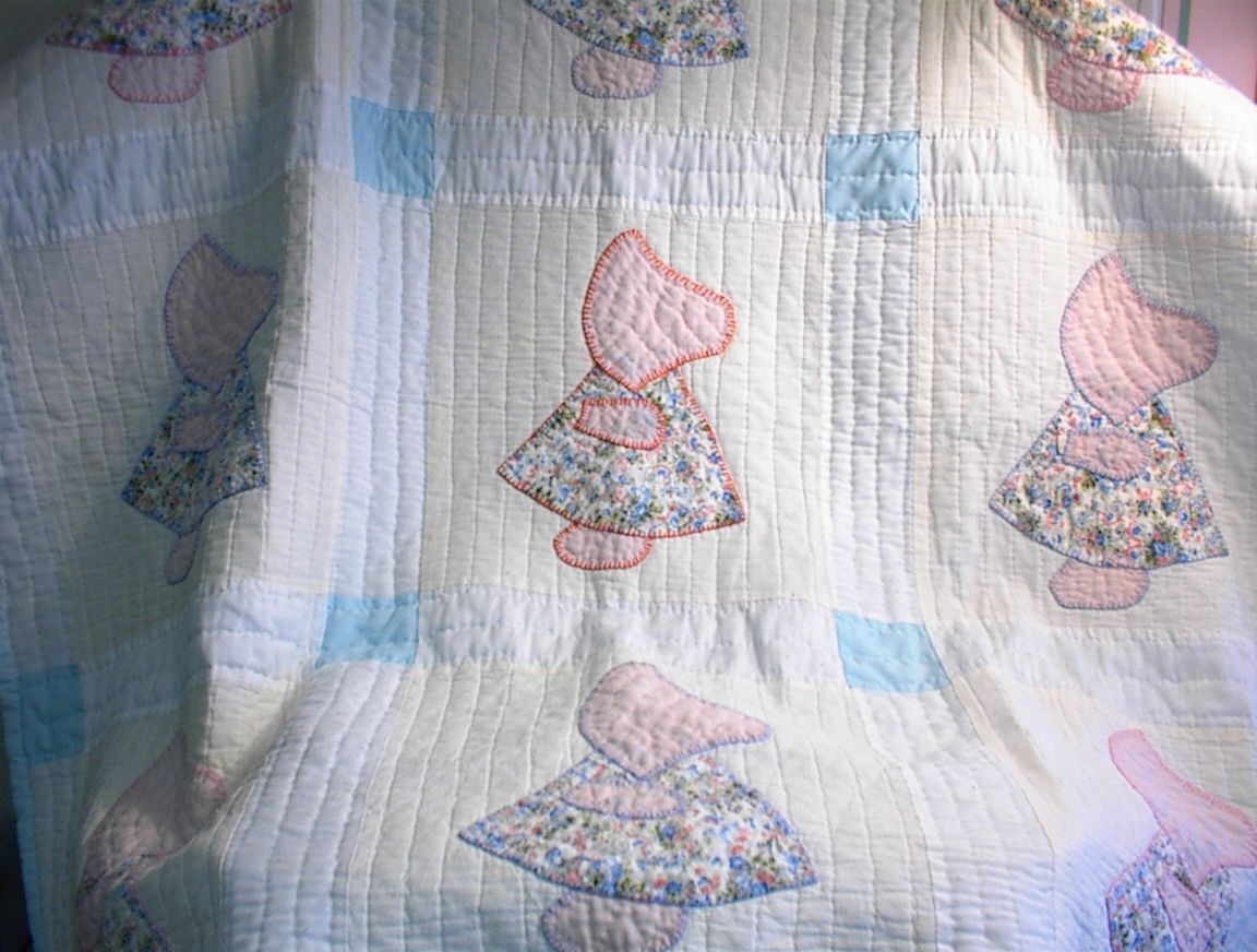 Little Girl Quilt Patterns | Estate Dispersal Service - Quilts - Free Printable Dutch Girl Quilt Pattern