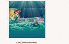 Free Printable Little Mermaid Water Bottle Labels