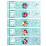 Little Mermaid Water Bottle Printables | P.tags | Pinterest   Free Printable Little Mermaid Water Bottle Labels
