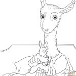 Llama Llama Red Pajama Coloring Page | Free Printable Coloring Pages   Free Printable Pajama Coloring Pages