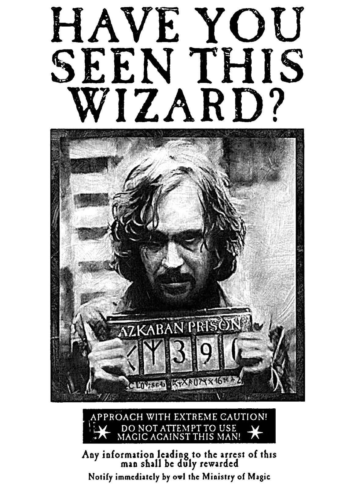 Looking For Harry Potter Sirius Black Wanted Poster   Rpf Costume - Free Printable Harry Potter Posters