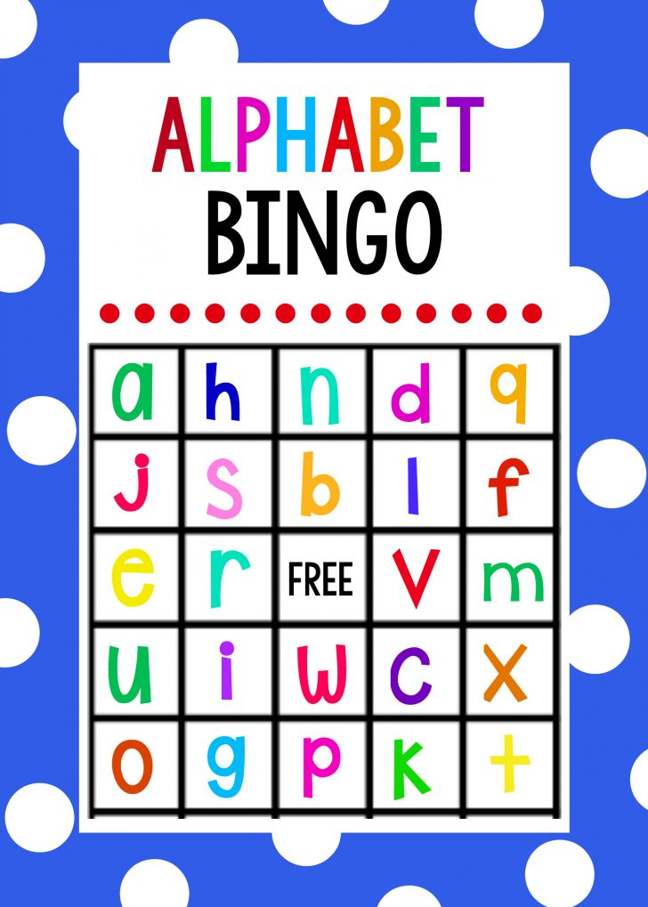 Free Printable Alphabet Games