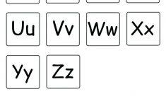 Lowercase Alphabet Printable Free Printable Alphabet Letters Upper - Free Printable Lower Case Letters
