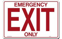 Free Printable No Exit Signs
