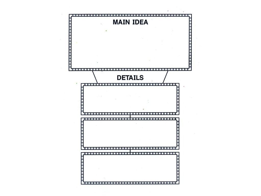 Main Idea And Details Graphic Organizer 3Rd Grade Main Idea Graphic - Free Printable Main Idea Graphic Organizer