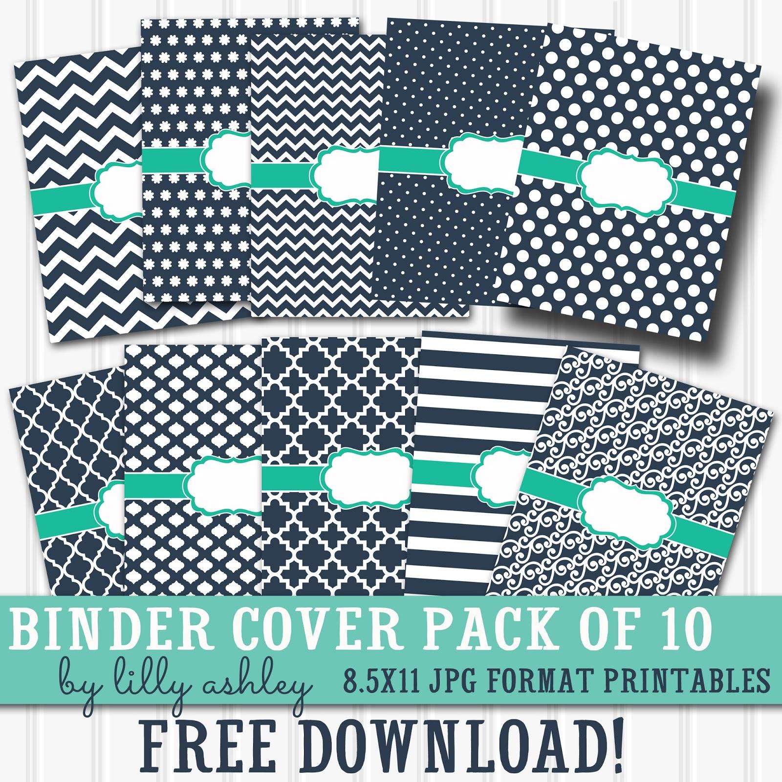 Make It Createlillyashleyfreebie Downloads: Free Printable - Free Printable Binder Paper