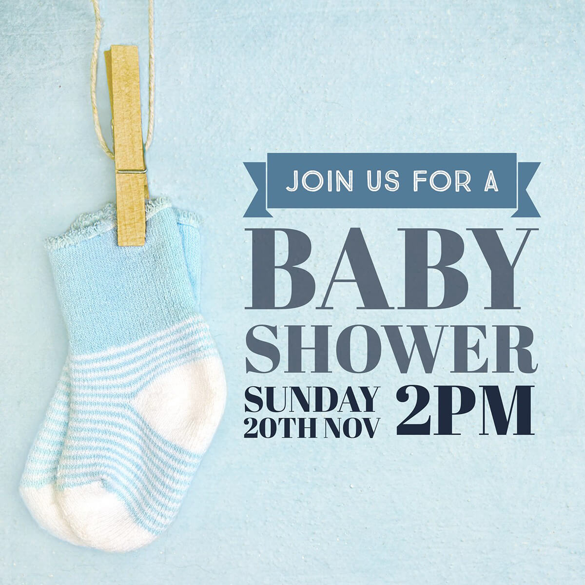 Make Your Own Baby Shower Invitations For Free | Adobe Spark - Create Your Own Baby Shower Invitations Free Printable