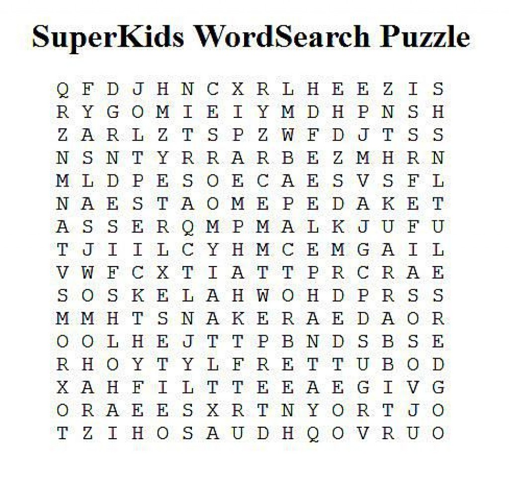 Make Your Own Free Word Search Puzzle For Free Printable Make Your - Free Printable Make Your Own Word Search