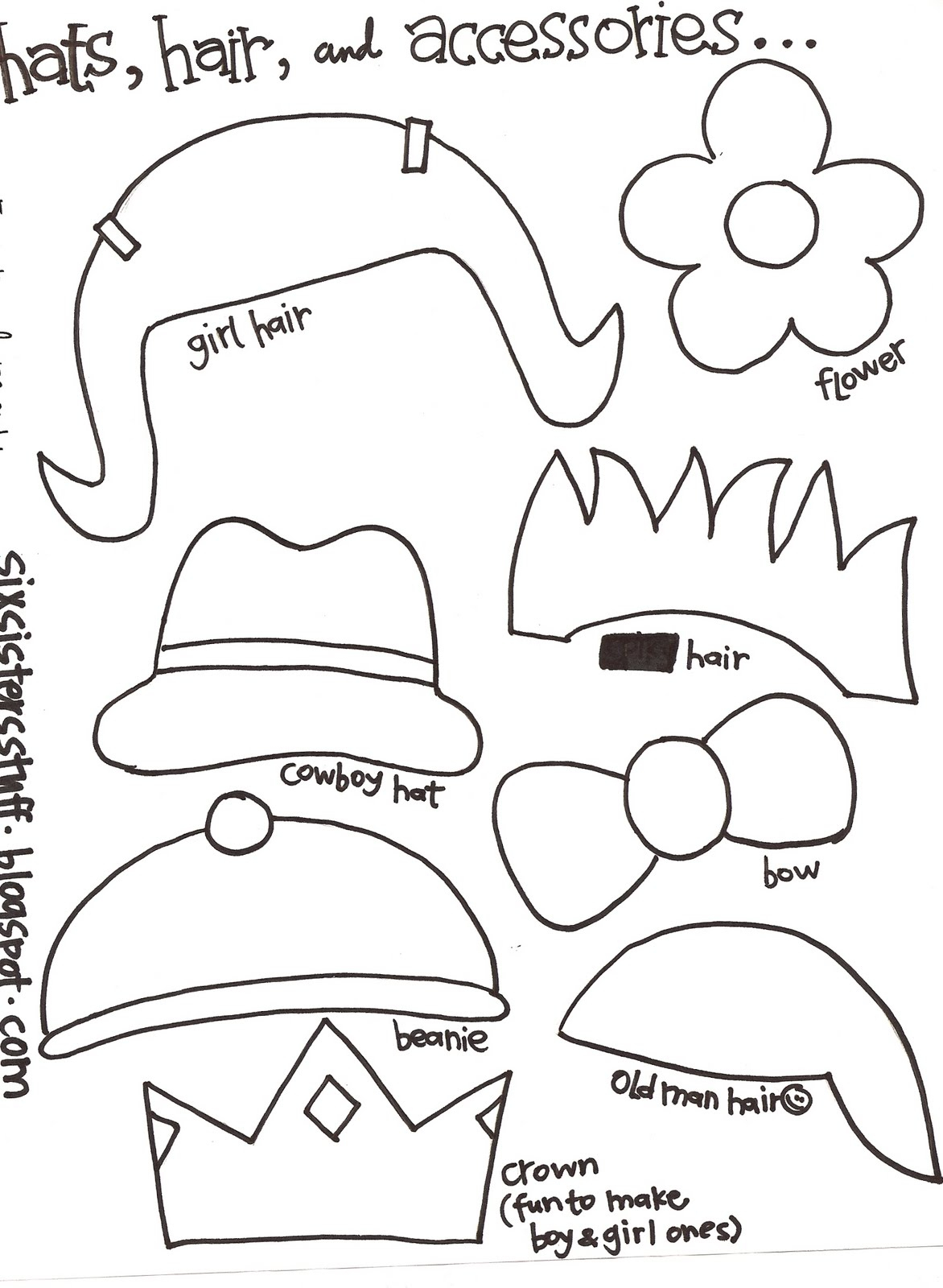 Make Your Own Monster Puppets Printable Pattern | Six Sisters' Stuff - Free Printable Paper Bag Puppet Templates