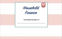Managing Home Finances {With Free 2017 Finance Binder Printables!} – Free Printable Financial Binder