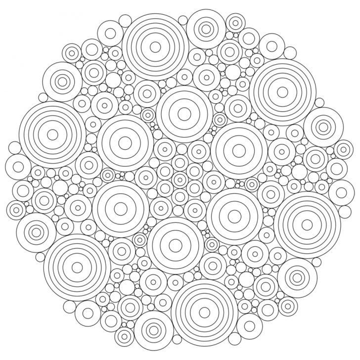 Mandala Coloring Free Printable