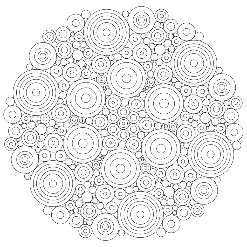 Mandala Coloring For Kids | Palmyramenorca - Mandala Coloring Free Printable