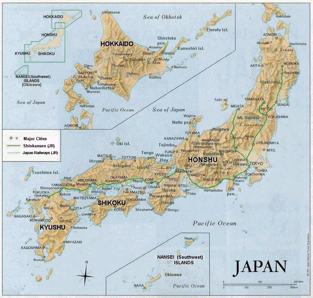 Maps Of Japan | Detailed Map Of Japan In English | Tourist Map Of - Free Printable Map Of Japan