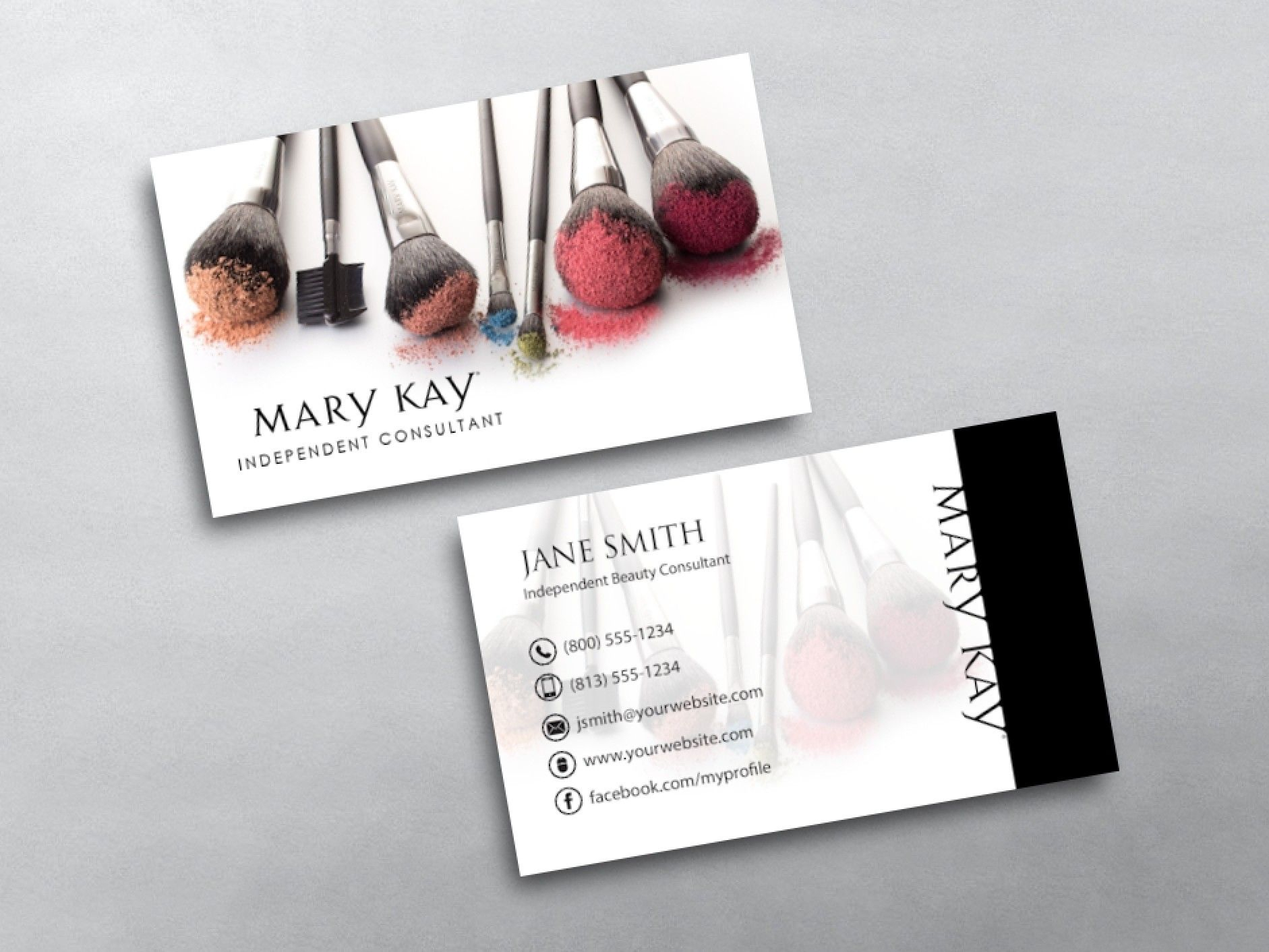 Mary Kay Business Cards | Pink Dreams | Mary Kay, Free Business - Free Printable Mary Kay Business Cards