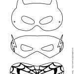 Mask Printable | Free Printable Superhero Mask Template | Masks   Free Printable Masks