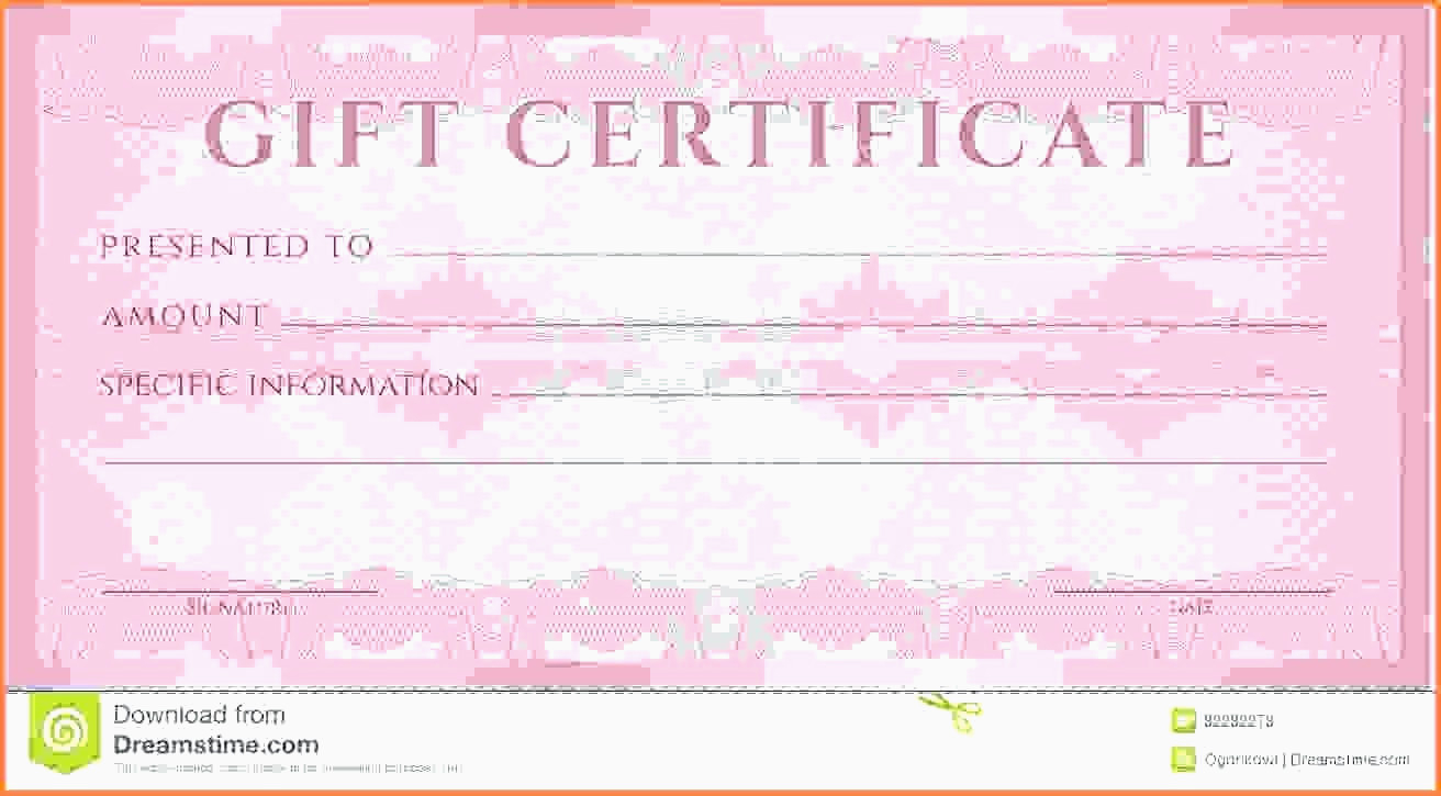 Massage Gift Certificate Template | Why Letter - Free Printable Massage Gift Certificate Templates