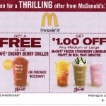 Mcdonalds Free Frappe Printable Coupons – Ezzy   Free Mcdonalds Smoothie Printable Coupon