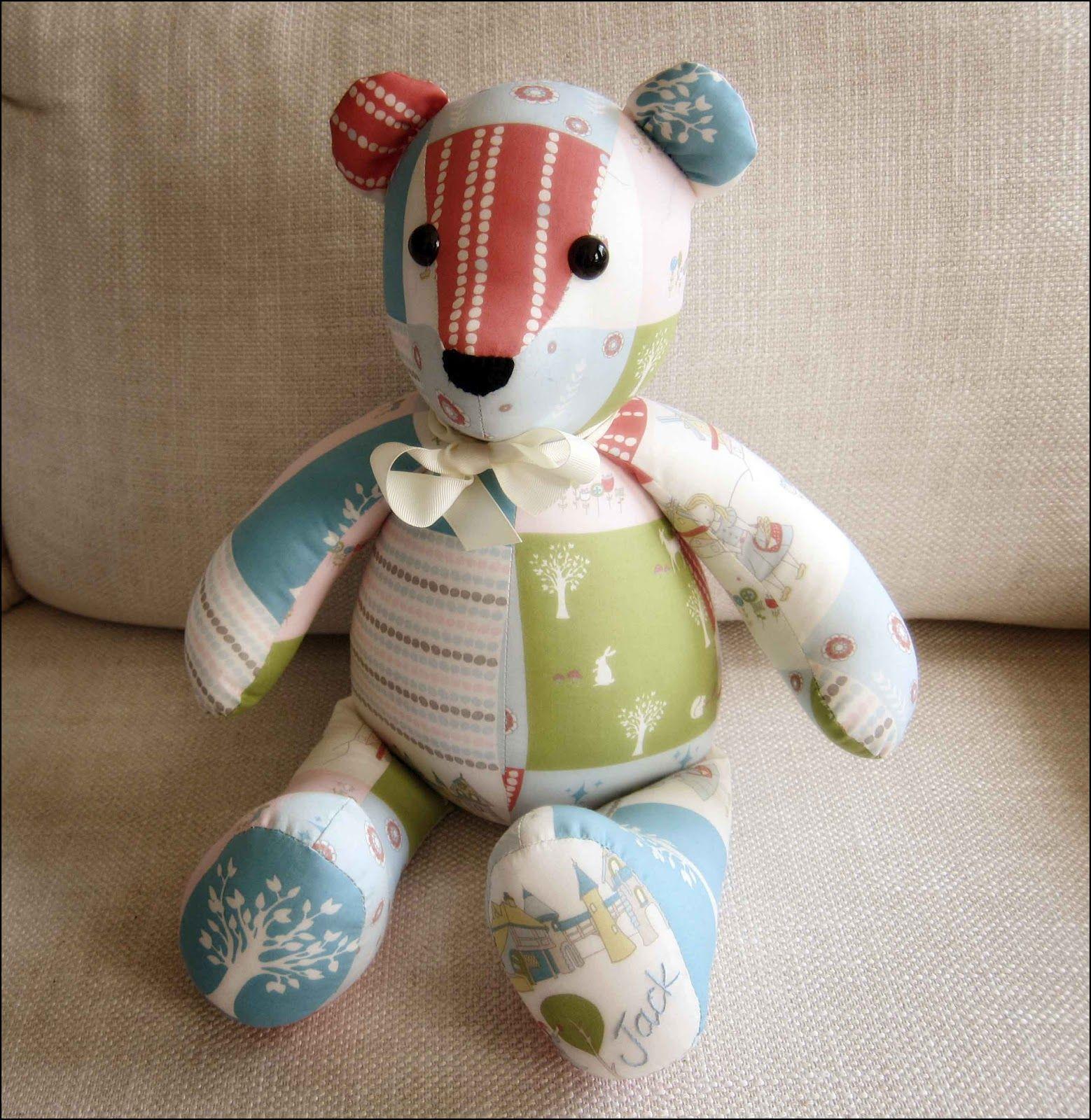 Memory Bear Pattern Free | Emily | Teddy Bear Sewing Pattern, Teddy - Free Teddy Bear Patterns Printable