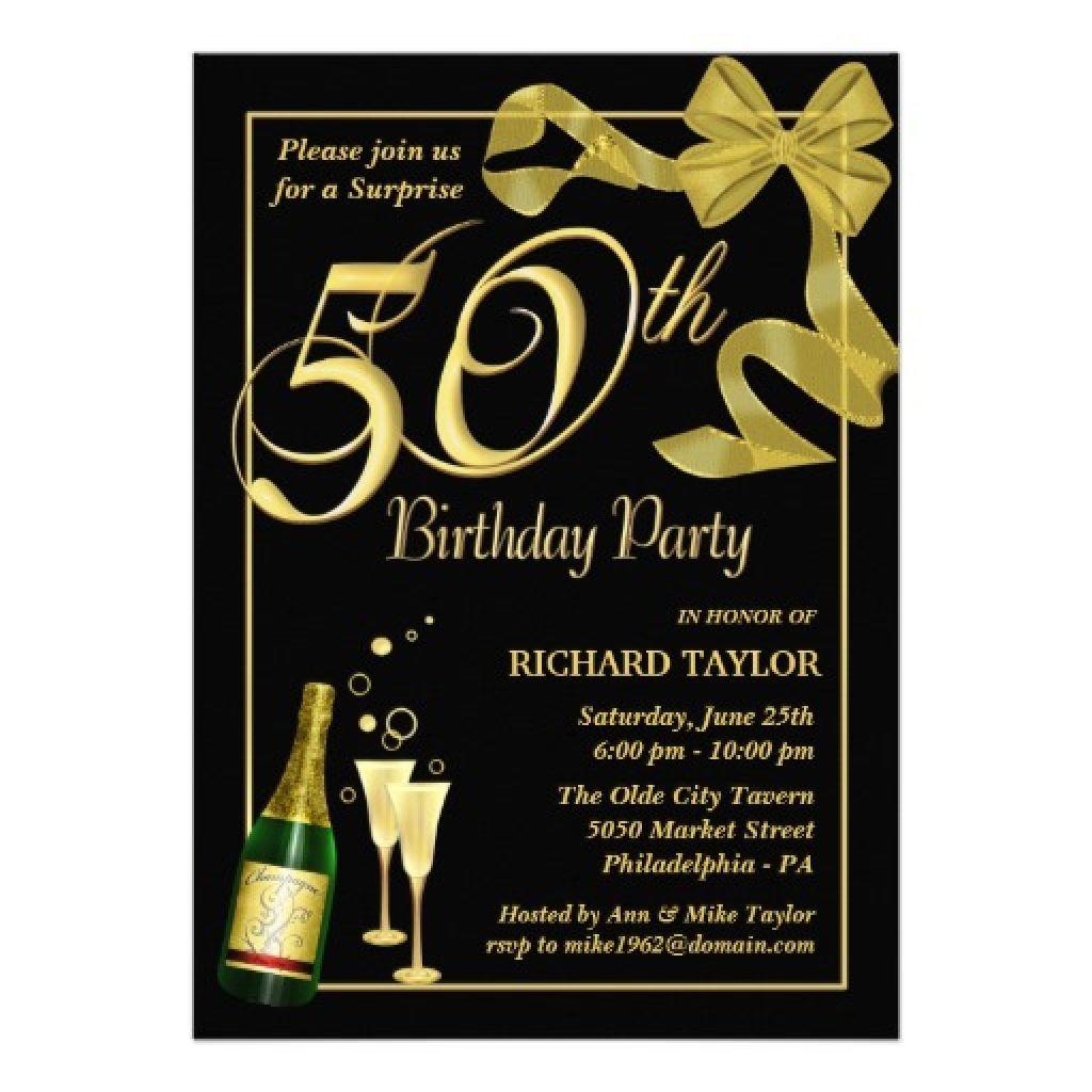 Men · 50Th Birthday Invitations For Him  | Vegetables In 2019 - Free Printable Birthday Invitations For Him