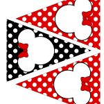 Minnie Mouse Party Printable Kit – Red {Free} - Free Printable Minnie Mouse Birthday Banner