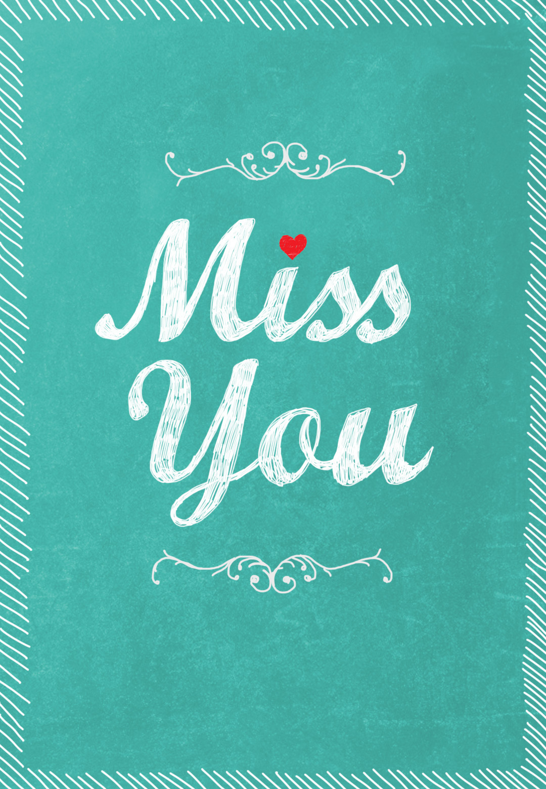 Miss You - Free Miss You Card   Greetings Island - Free Printable We Will Miss You Greeting Cards