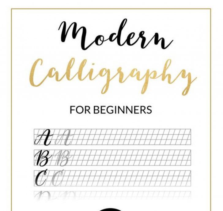 Calligraphy Practice Sheets Printable Free
