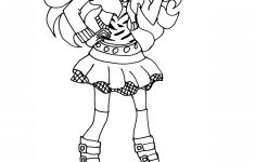 Monster High Clawdeen Wolf Coloring Page   Free Printable Coloring Pages - Monster High Free Printable Pictures