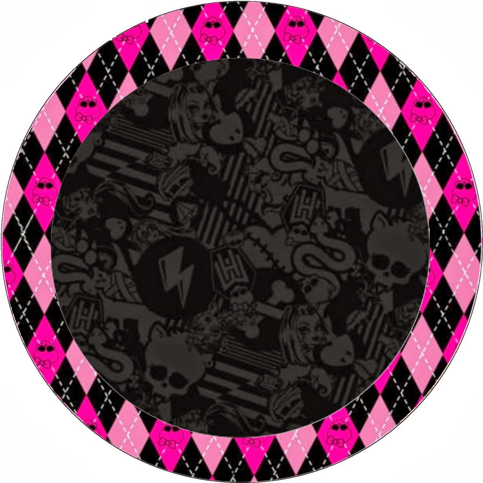 Monster High Halloween Special Free Printable Kit. | Monster High - Free Printable Monster High Stickers