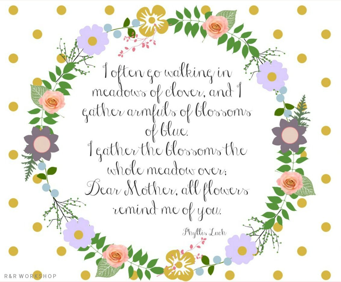 Mother's Day Poem And Free Printables | Make N Take | Pinterest - Free Printable Mothers Day Poems