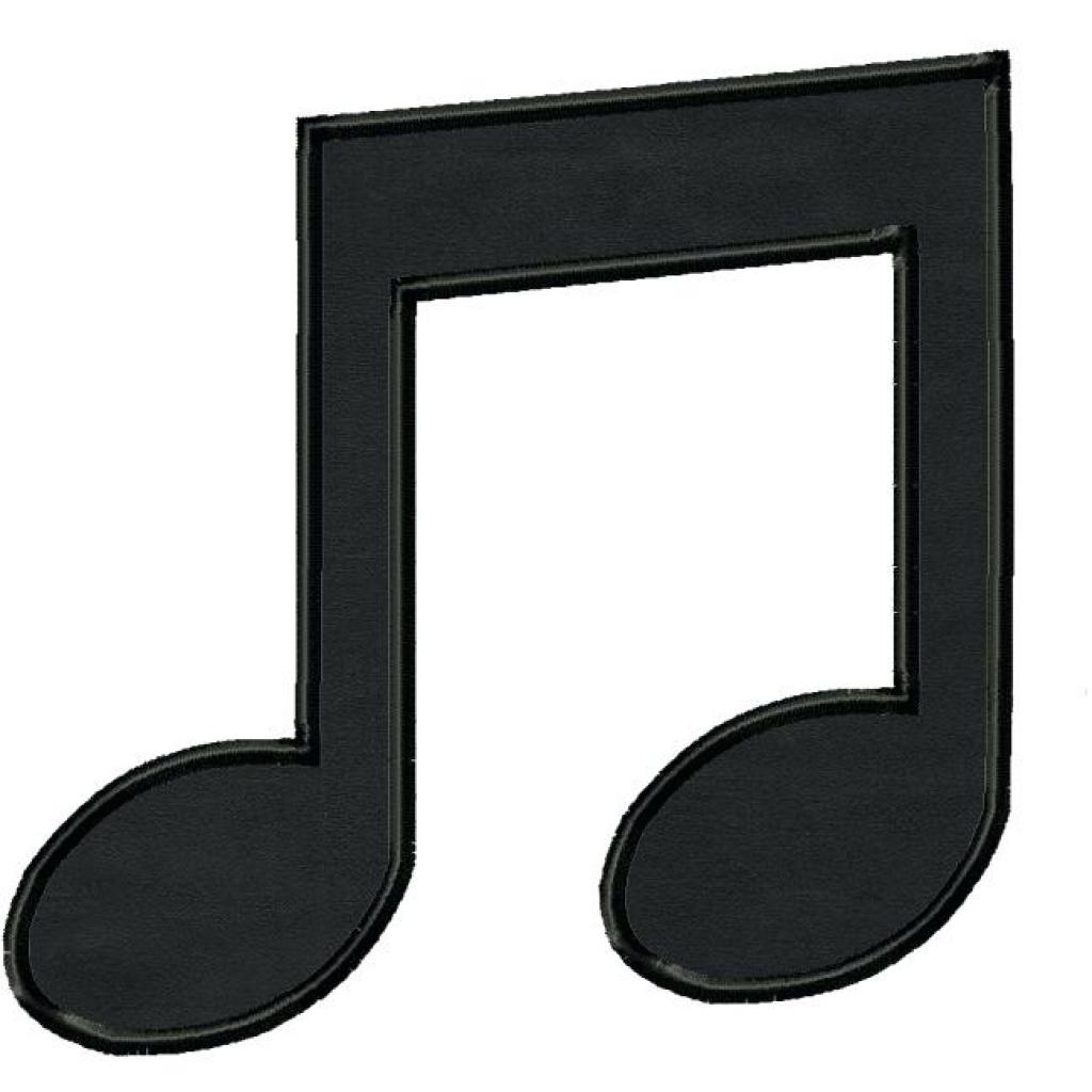 Music Note Template Printable - Bino.9Terrains.co Within Free - Free Printable Music Notes Templates