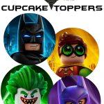 Musings Of An Average Mom: Free Lego Batman Cupcake Toppers   Batman Cupcake Toppers Free Printable