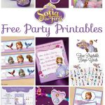Musings Of An Average Mom: Sofia The First – Party Printables – Sofia The First Cupcake Toppers Free Printable