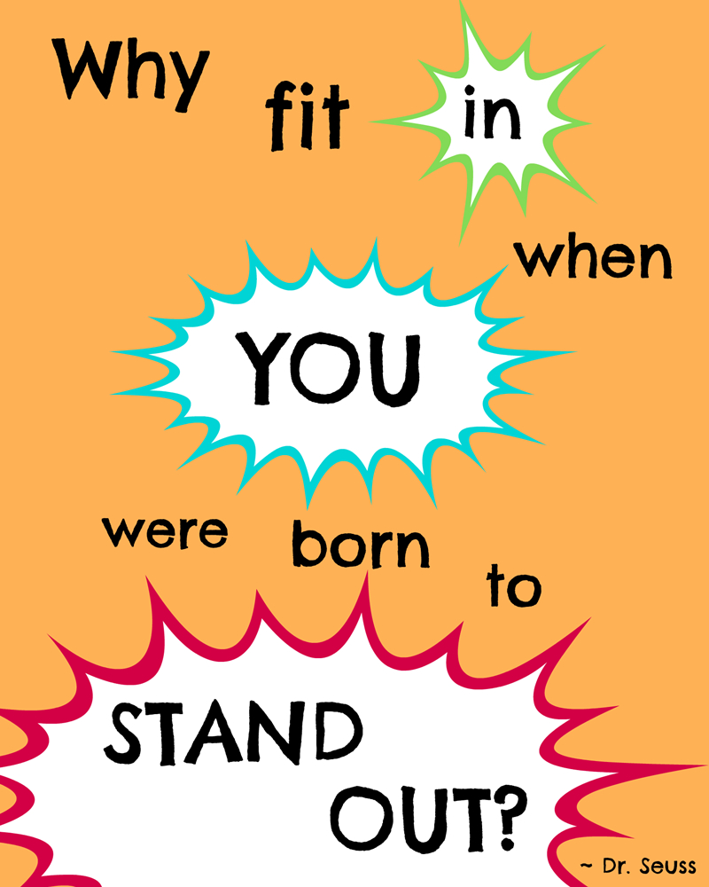 My Favorite Dr. Seuss Quotes And A Free Printable! - Pet Scribbles - Free Printable Dr Seuss Quotes