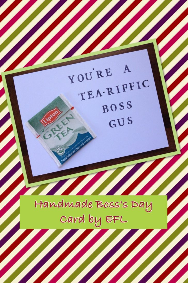 Boss Day Cards Free Printable