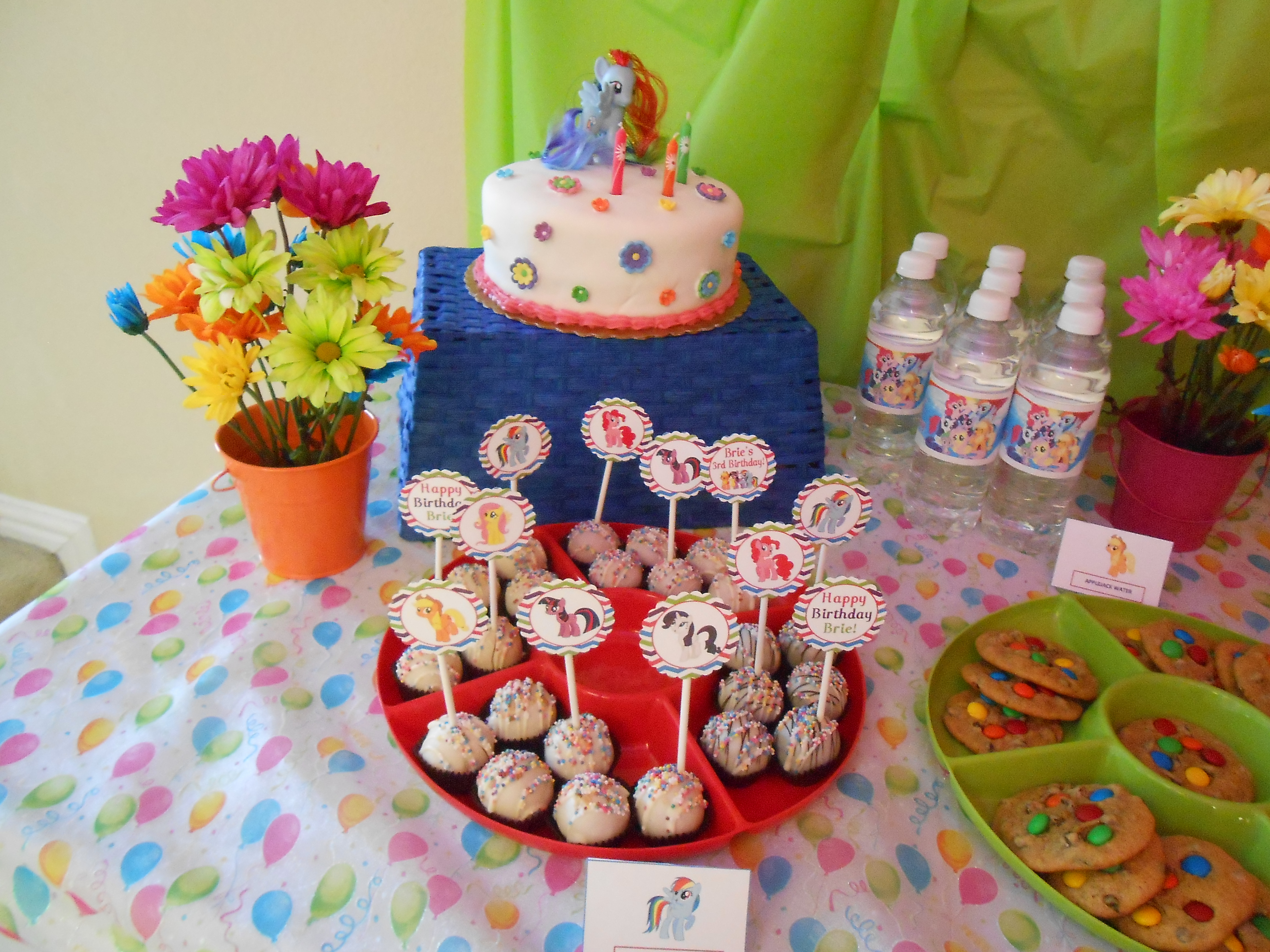 My Little Pony Party- Free Downloads | Just Shy Of Perfection - Free Printable My Little Pony Cupcake Toppers