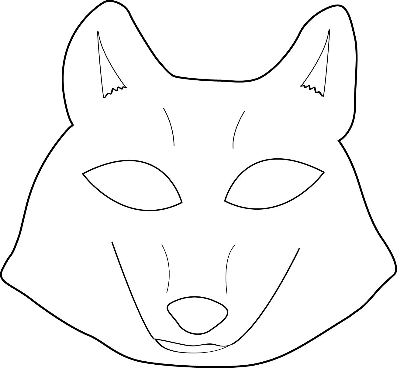 Mysterious Strangers | Peter & The Wolf | Pinterest | Wolf Mask - Free Printable Wolf Mask