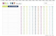 Nadia Helena: Freebie: Bill Payment Checklist | Planner Printables – Free Printable Bill Payment Checklist