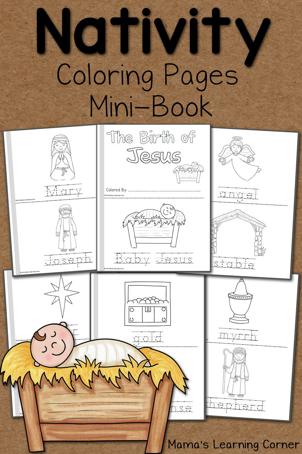 Nativity Coloring Pages   Ultimate Homeschool Board   Nativity - Free Printable Christmas Story Coloring Pages