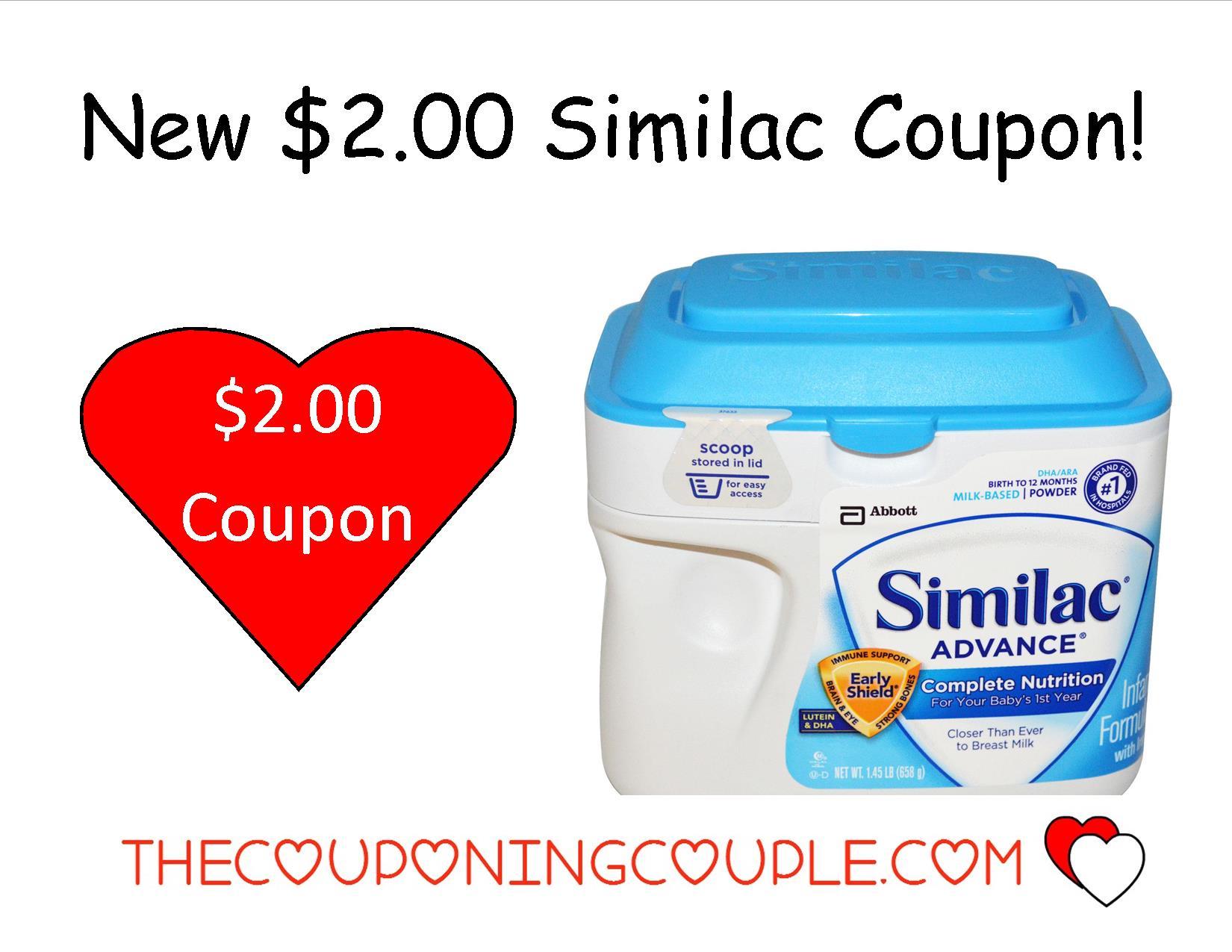 New $2.00/1 Similac Formula Coupon + Walmart Deal! - Free Printable Similac Sensitive Coupons