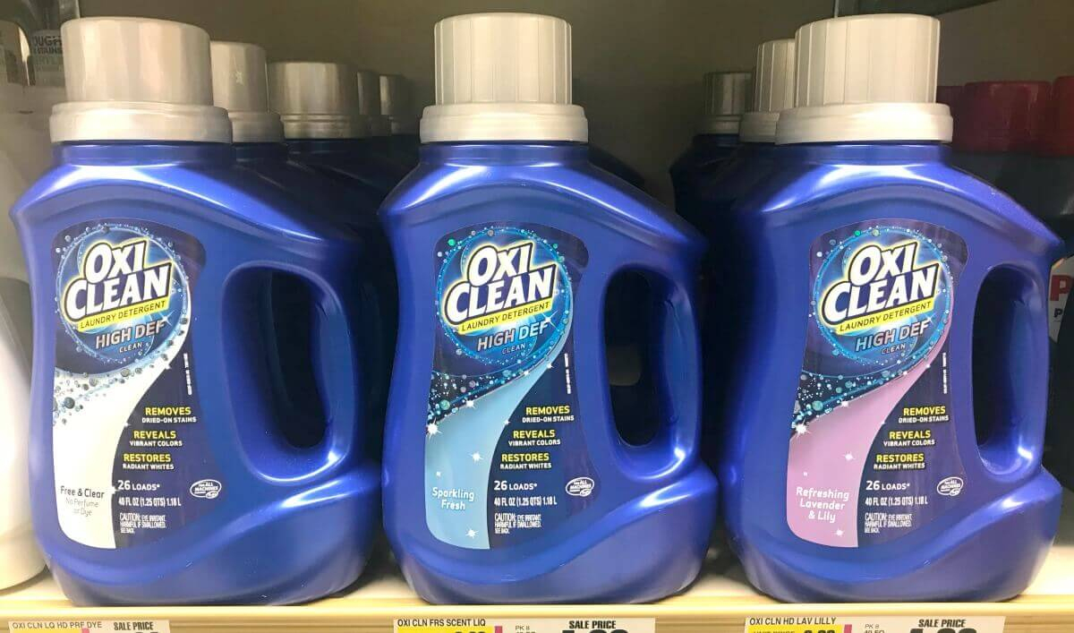 New $2/1 Oxiclean Laundry Detergent Coupon - $1 Money Maker At - Free Detergent Coupons Printable