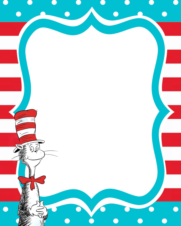 New Beginnings Dr Seuss Decorating Ideas | Clipart - Babies - Free Printable Dr Seuss Clip Art
