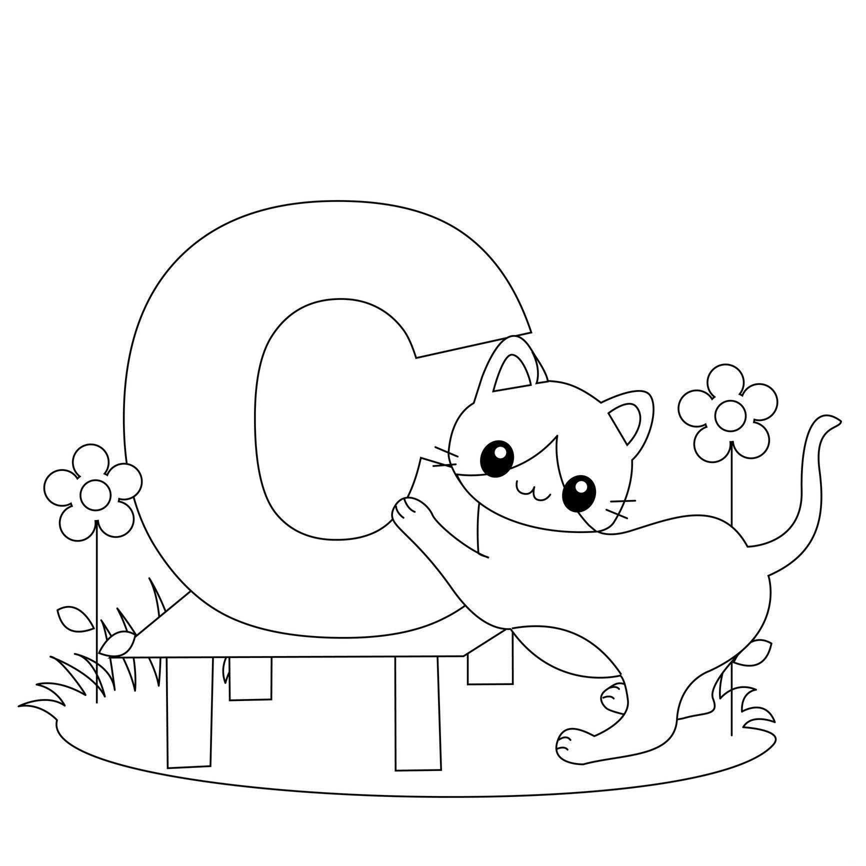 New Images Of Free Alphabet Coloring Worksheets Download | Coloring - Free Printable Alphabet Coloring Pages