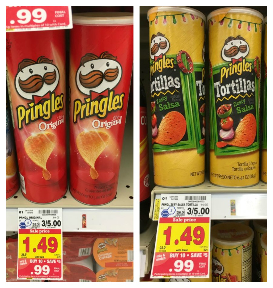 New Pringles Coupon = Snacks As Low As $0.45 With Kroger Mega Sale - Free Printable Pringles Coupons