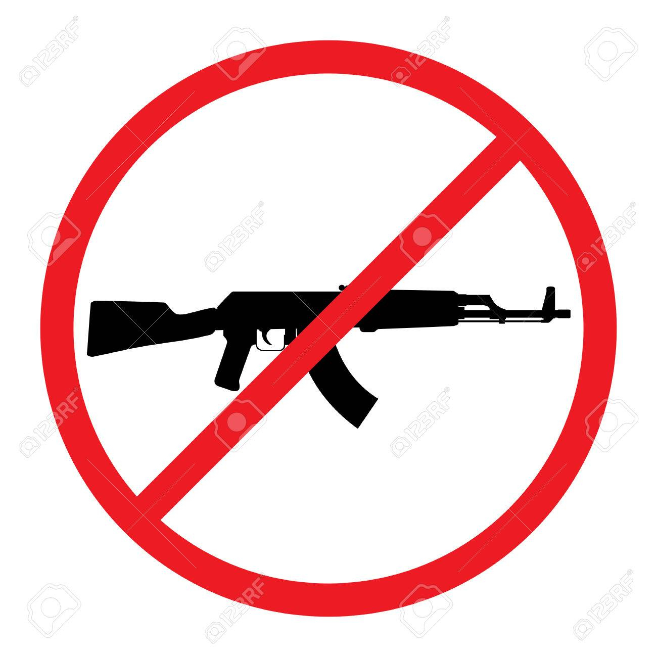 No Guns Symbol - Www.naturalrugs.store • - Free Printable No Guns Allowed Sign