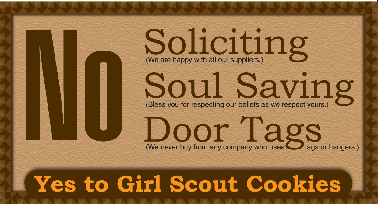No Soliciting Door Sign Free Printable | Worldlabel Blog - Free Printable No Soliciting Sign