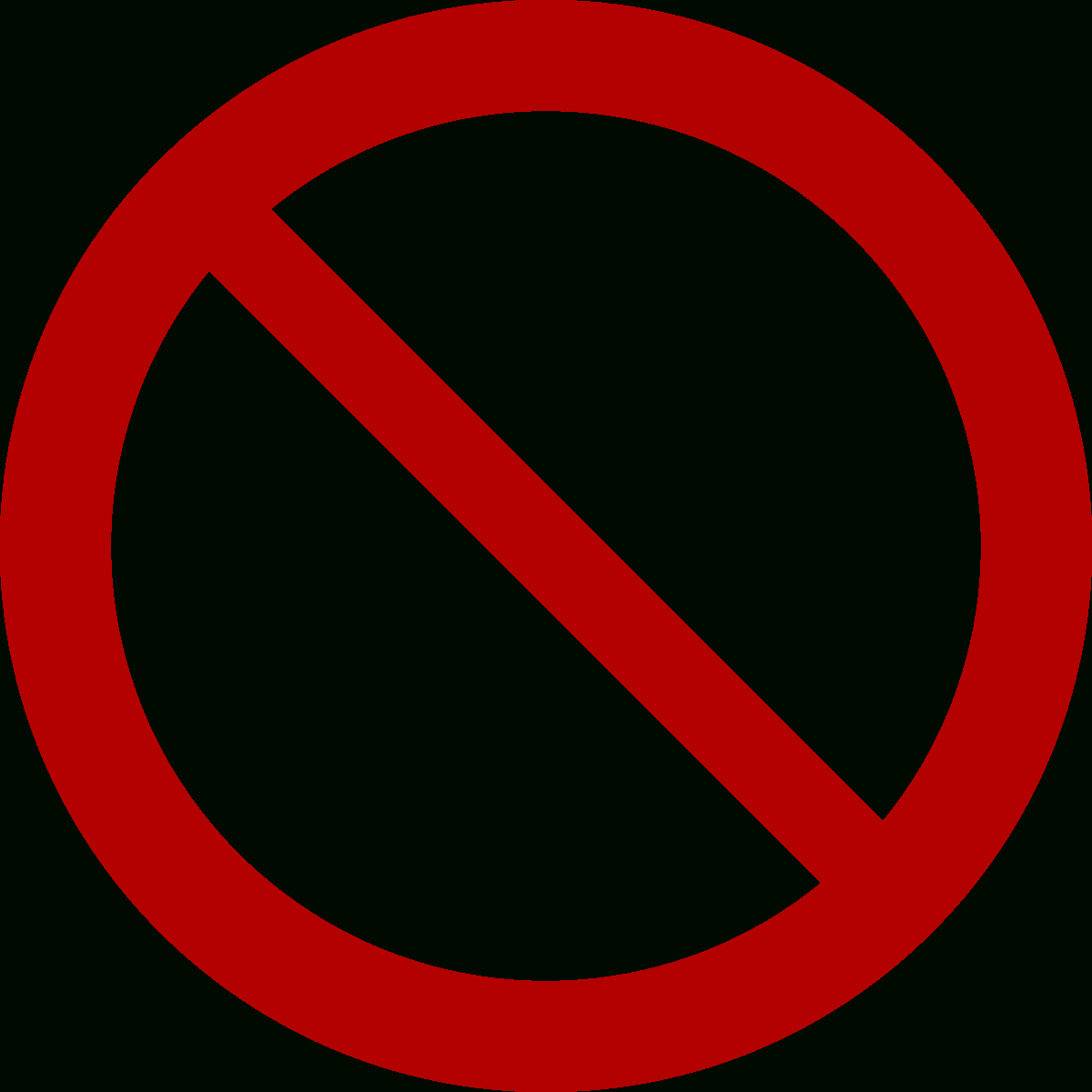 No Symbol - Wikipedia - Free Printable No Guns Allowed Sign