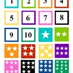 Number Matching Free Printable (Cut And Paste | Education | Learning   Free Printable Numbers