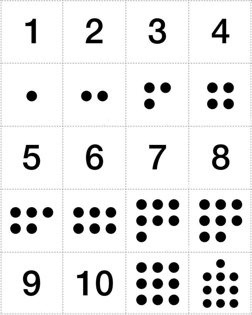 Numbers 1-10 Preschool Printables Image | Quotes | Pinterest - Free Printable Numbers 1 10