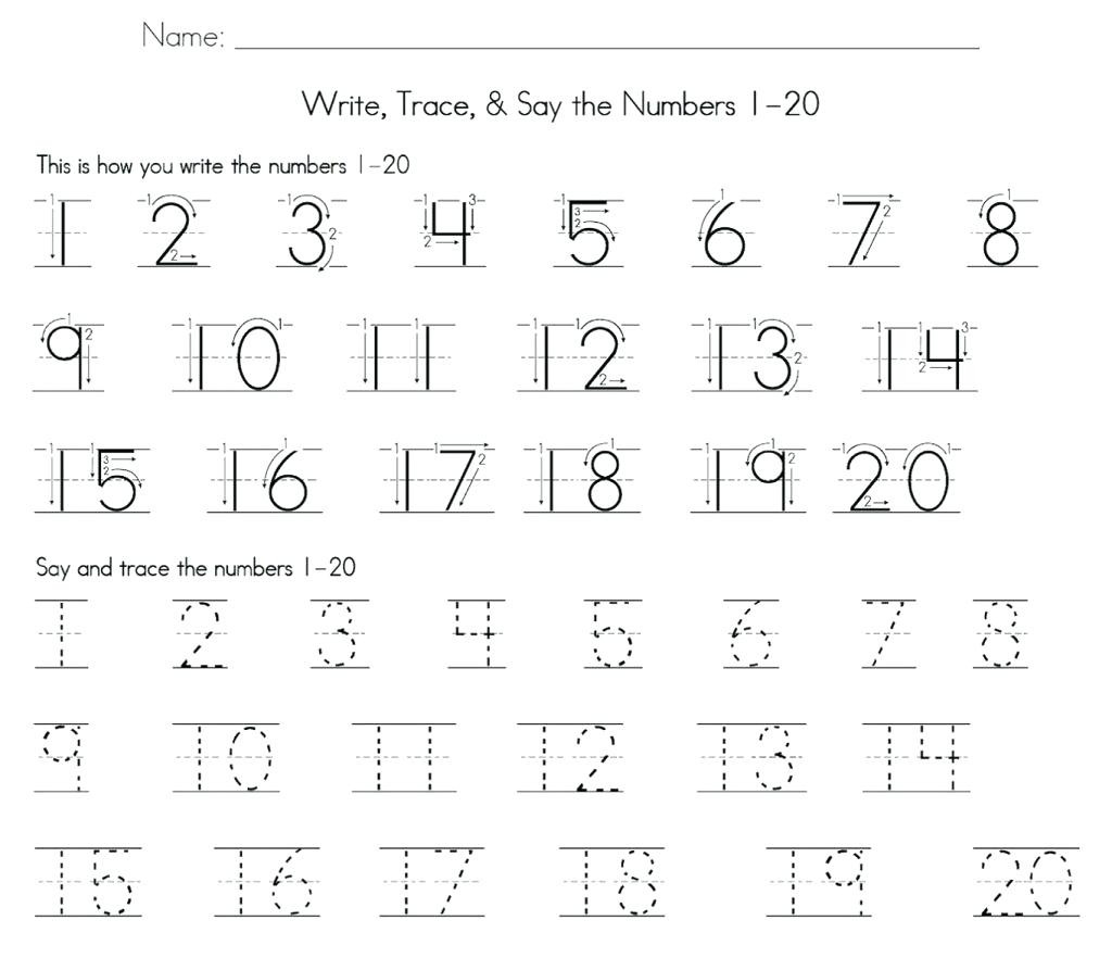 Numbers 1 50 Math Tracing Math Number Worksheets 1 2 For Preschool - Free Printable Tracing Numbers 1 50